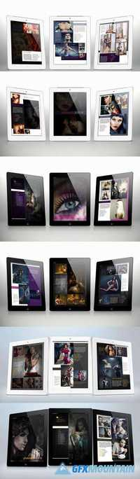 Tablet Portfolio Bundle for Indesign 711630