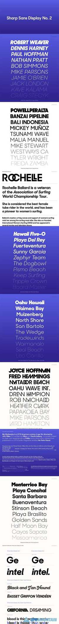 Sharp Sans No  2 Font Family » Free Download Graphics, Fonts