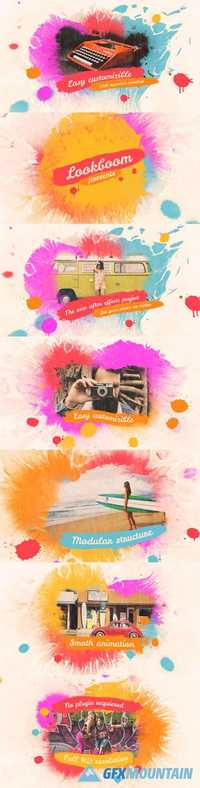 Videohive - Colorful Ink Slideshow - 17094960
