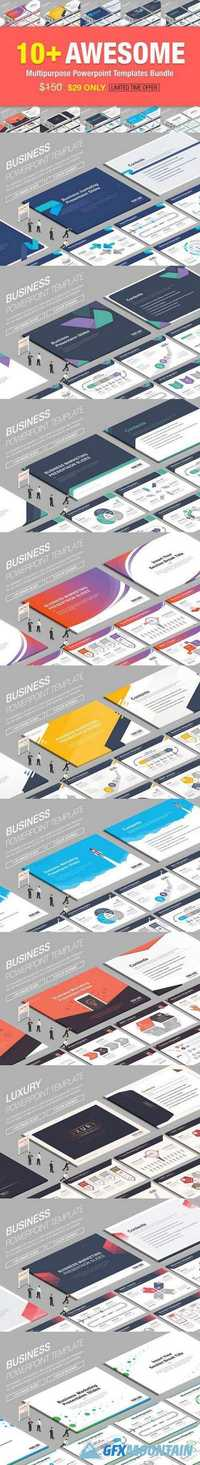 10+ Awesome Powerpoint Bundle 850990