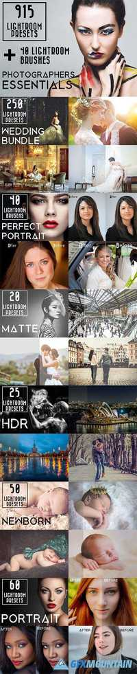 915 Lightroom Preset Bundle 895441
