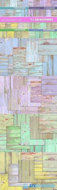 40 painted wood background textures 912038