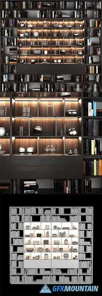 Bookcase Poliform