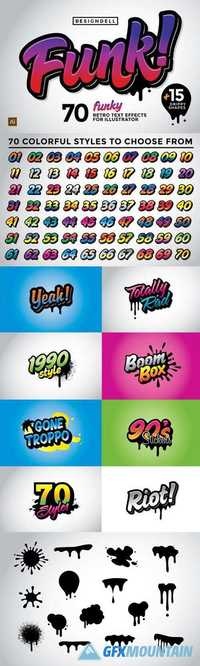 Funk Graphic Styles 1012691