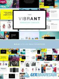 The VIBRANT - Powerpoint Template 1021841