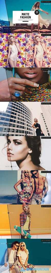 Matte Fashion Lightroom Presets 937763