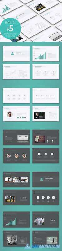 Basic Powerpoint Template 1020552