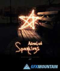 GraphicRiver - Gif Animated Sparkler Photoshop Action 18984546