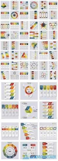 Collection of Design Colorful Presentation Templates 2