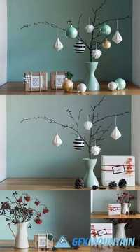 Retro, Natural and Simple Xmas Decoration