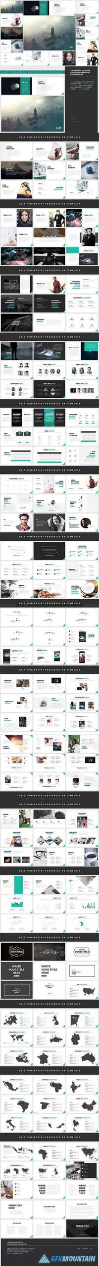 Powerpoint Template - Cult 917811