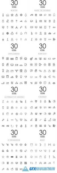 Simplified Icons