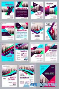 Modern Brochure Layout Design Template 2