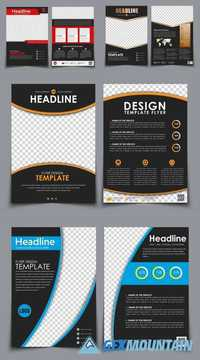 Template Flyer Brochure