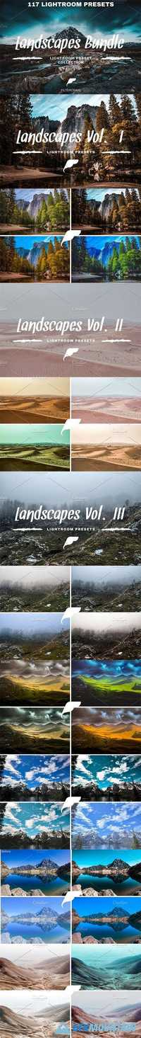 Landscape Lightroom Preset Bundle 1127926