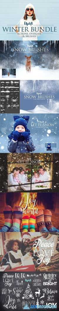 Winter Bundle for Photoshop 1139393