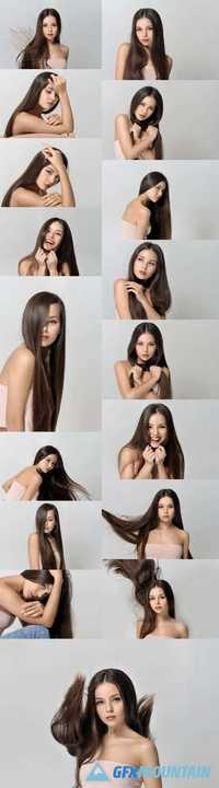 Beautiful Girl - Concept Skin Care and Hair