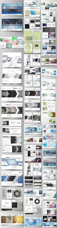 Business Templates for Brochure, Magazine, Flyer, Banners