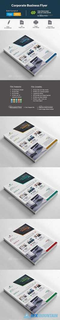 Corporate Business Flyer 11129