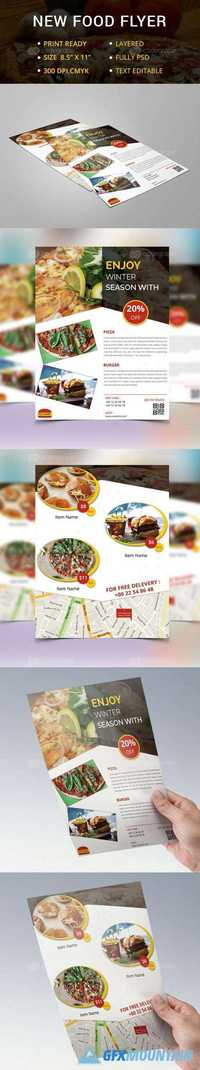 New Food Flyer 11234
