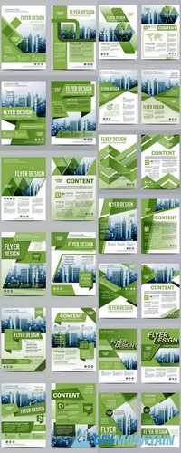 Greenery Brochure Layout Design Template