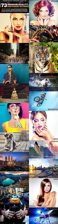 GraphicRiver - 73 Premium Quality Actions 19201588