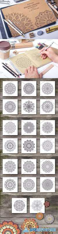 Mandala Collection for Coloring Book  1140877