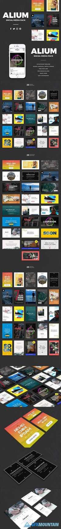 ALIUM | Social Media Pack 1138072