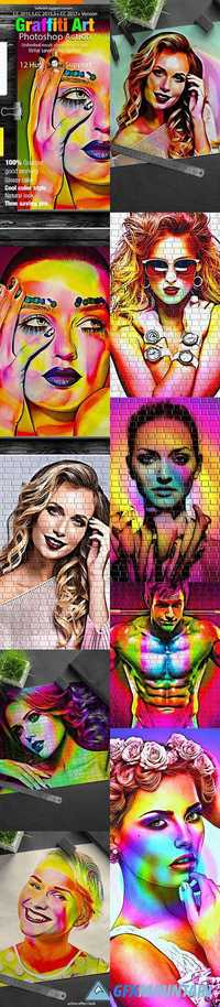 GraphicRiver - Graffiti Art Action 19128319