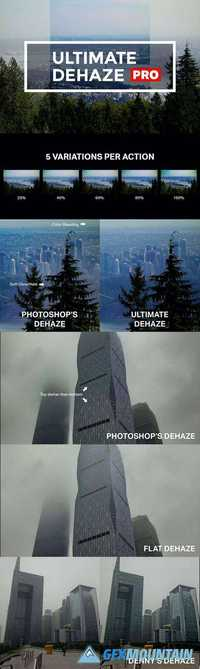 Graphicriver Ultimate Dehaze Pro 19210981