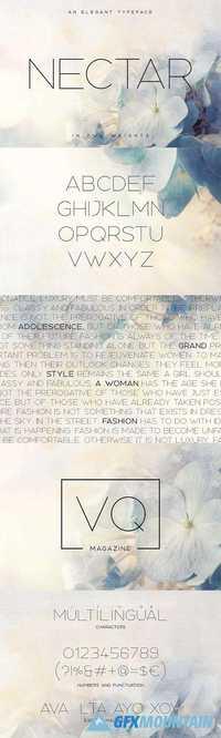 Nectar Typeface