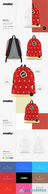 Backpack Mockup Set 1171883