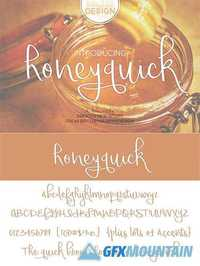 Honey quick Font