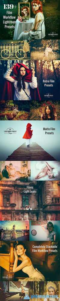 Film Lightroom Presets Bundle 1175517
