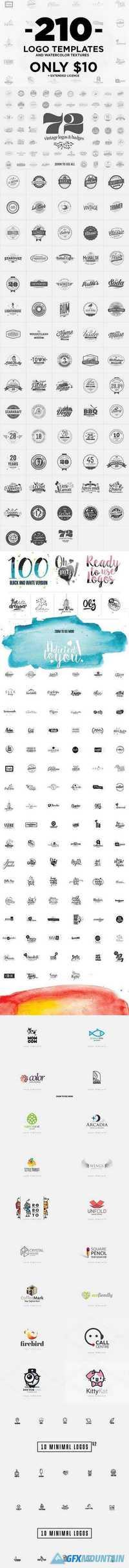 210 Logo Templates 1175177