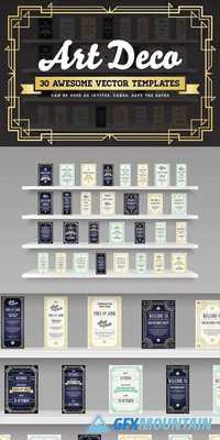 Awesome Art Deco Invites & Cards 1247214