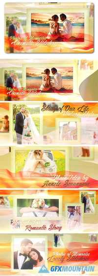 Videohive Lovely Slides of Romantic Moments  19244789