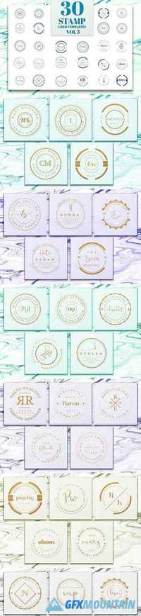 Stamp Premade Logo Templates Vol.3 1270333