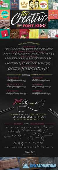 50 in 1 - The Creative FONT 1279891