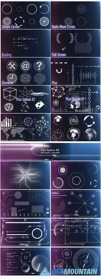 149 HUD Elements Pack for Touch Screen 10982941