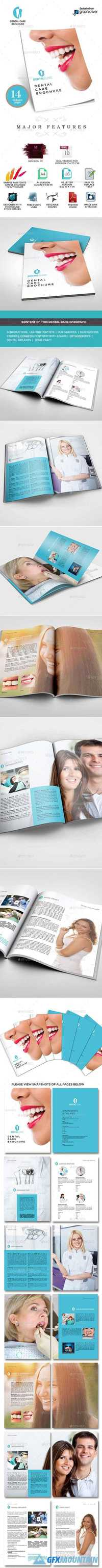 Dental Clinic Services or Care Brochure 9529058