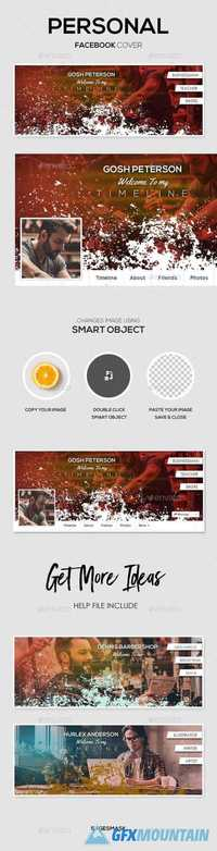 GraphicRiver Personal Facebook Cover 19296495