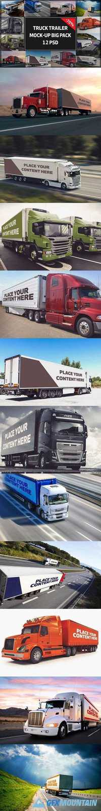Truck Trailer Mock-up Bigpack#2 1350613
