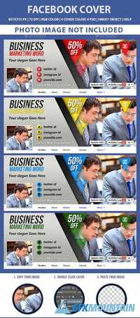 Graphicriver Facebook Cover v2 19719677