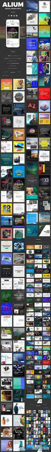 Graphicriver ALIUM Social Media Pack FULL 19727784