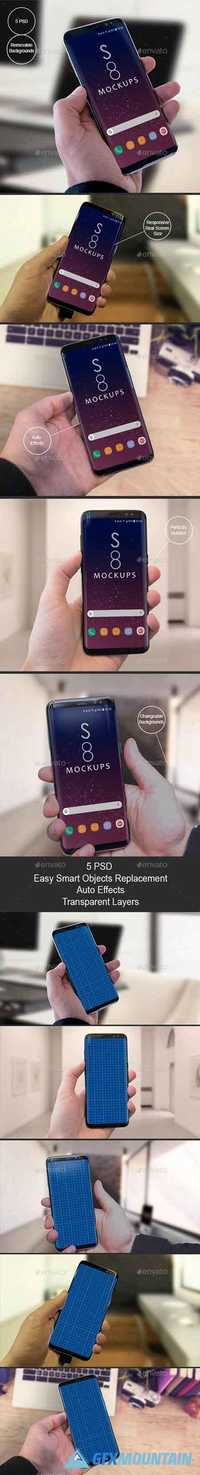 S8 Galaxy Modern Android Mockups-Apps Ui Showcase 19727219
