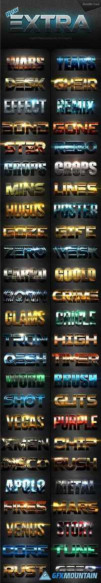 NEW EXTRA LIGHT TEXT EFFECTS BUNDLE TWO - 19584157