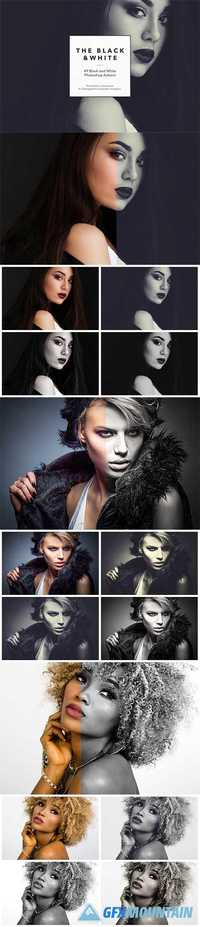 49 Black & White Photoshop Actions 1200292