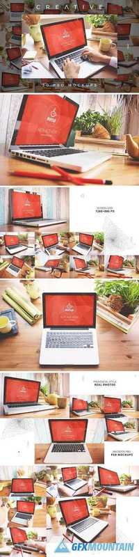 20 PSD Macbook Mockups Creative 1371919
