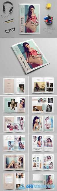 LookBook Magazine Template 1196563
